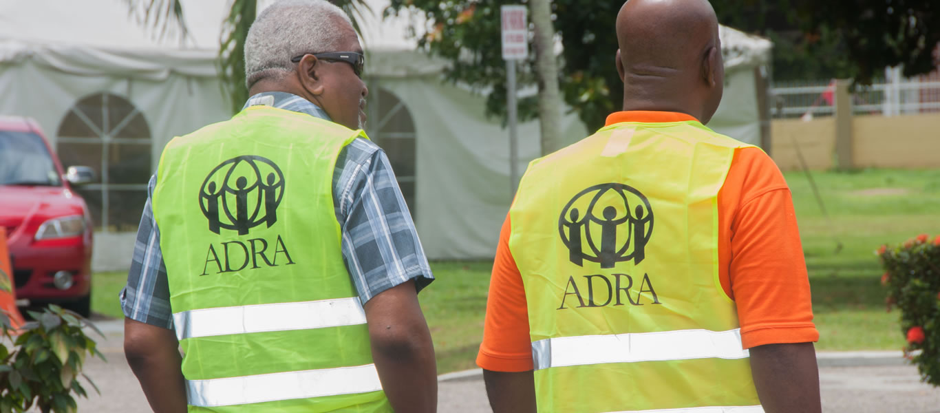 <strong>ADRA in Action</strong>  	       <br/>On the job of disaster relief organizing