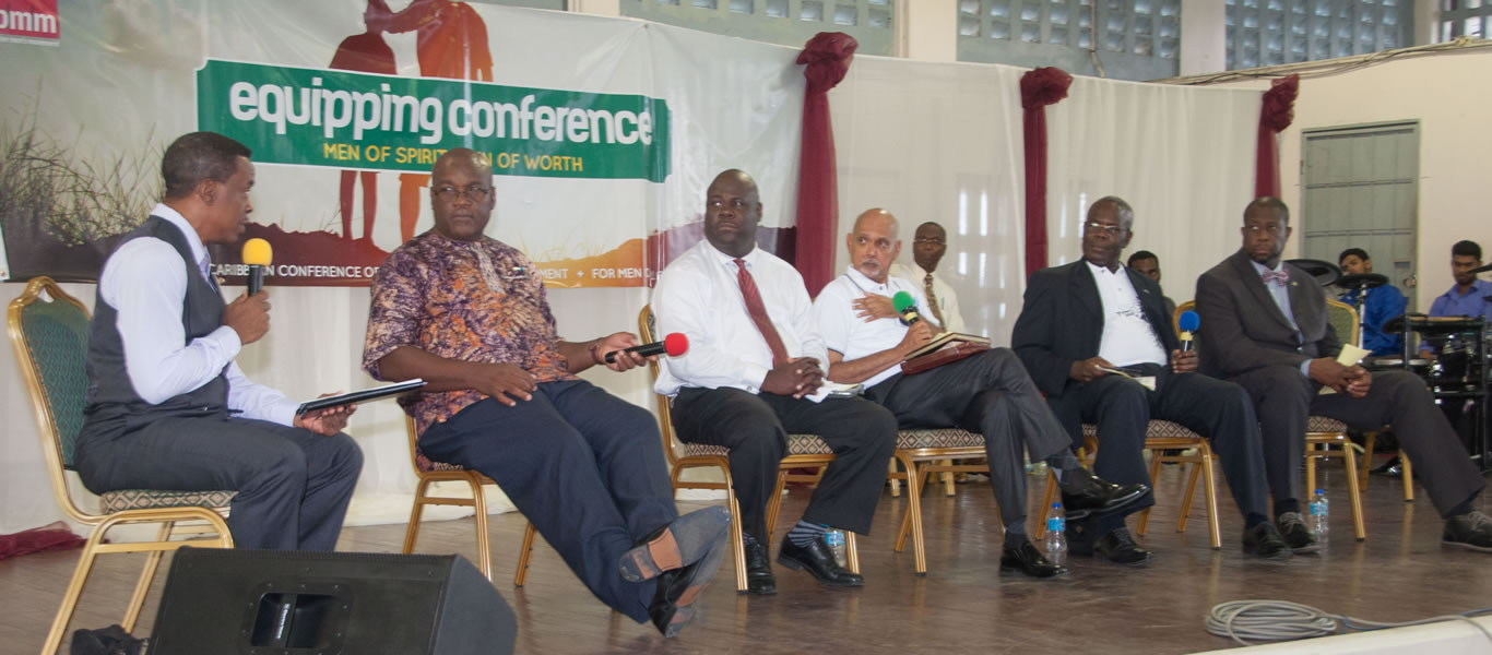 <strong>Better Men Movement</strong>  	       <br/>Panel discussion held  during the Men/s Ministries Convention