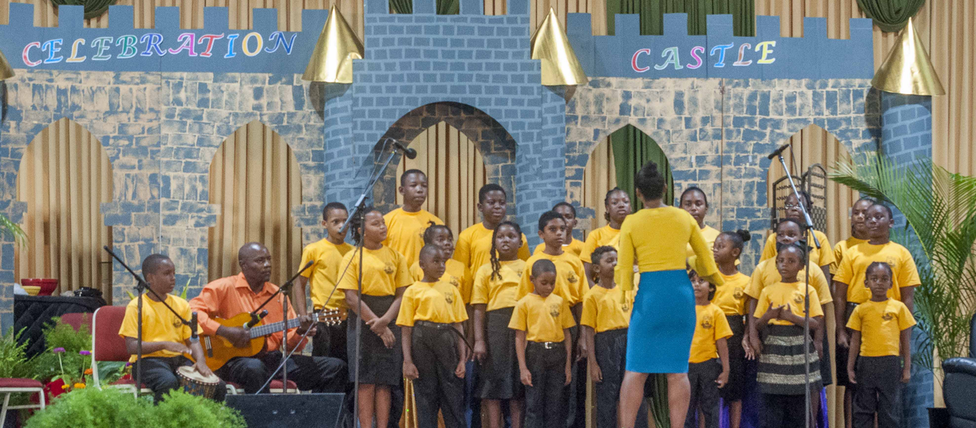<strong>Children's convention </strong>         <br/>Sing your praise to the Lord