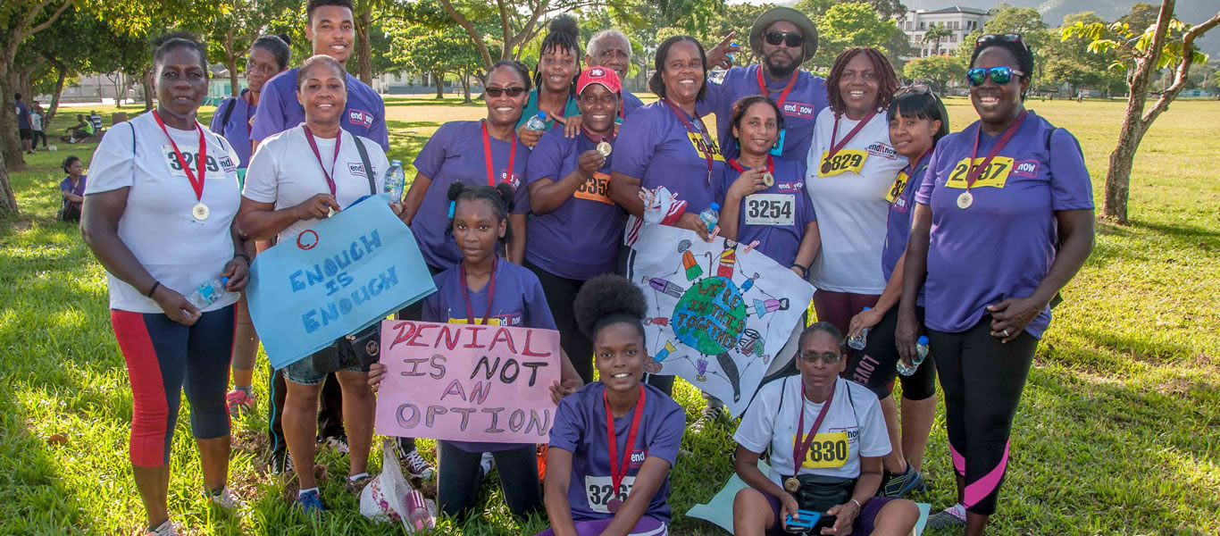<strong>End it Now 2018 5K</strong>         <br/>Promoting the Enditnow, violence against women programme