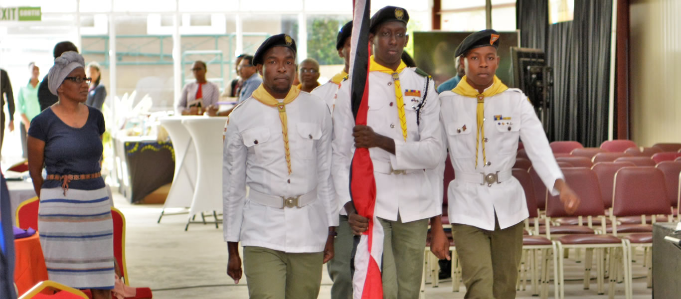 <strong>Pathfinders</strong>         <br/>Opening Ceremony for the 43rd Conference Session