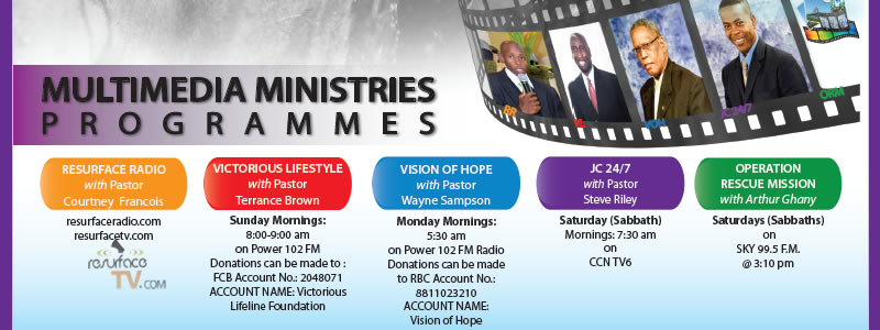 Support our local media ministries